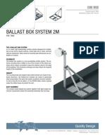 Cue Dee Ballast Box System 2M