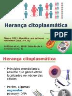 Aula 4a - Herança Citoplasmática