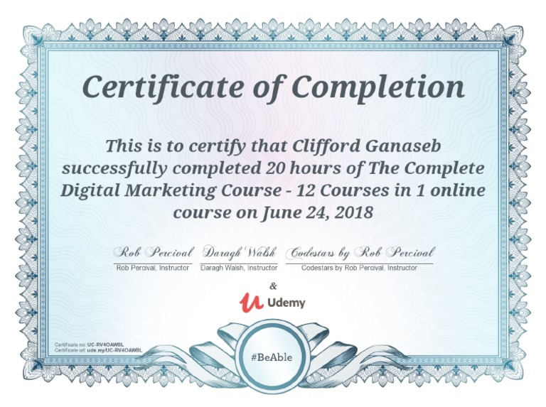 udemy digital marketing