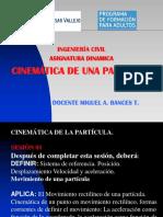 Sesion01 Cinemática de La Particula