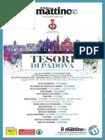 """Tesori di Padova, il nuovo ciclo di eventi di """"Noi Mattino"""""""