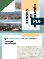Proceso de Urbanizacion