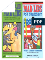 Dinosaur Mad Libs and Mad Libs For President.pdf