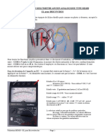 Utilisation Multimetre Metrix Bv2009