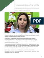 11-09-2018-Llama DIF Sonora a crear conciencia para frenar suicidios en jóvenes - uniradionoticias