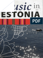 Music in Estonia No_ 9