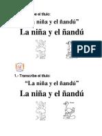 Transcribe El Titulo Letra Ñ