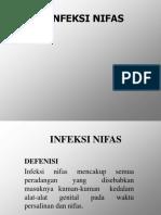 Infeksi nifas ppt dr.ppt