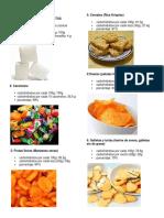 Alimentos Con Carbohidratos