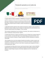 07-09-2018-Rechaza Claudia Pavlovich Aumento en El Cobro de Casetas - Ehui