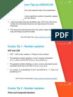 CAT Number System Formulas PDF.pdf