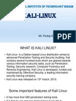 Kali-Linux Presentation