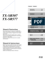 Manual_TX-SR507_French-Spanish.pdf