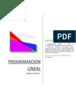 Programacion Lineal Calculo III