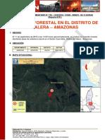 AMAZONAS - Bongora - Valera (Casa Mata) Incendio Forestal (Reporte Complementario 01)