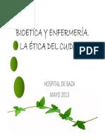 Etica Enfermeria Trini Lopez