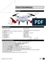 V686K Explore - WIFI Quadcopter
