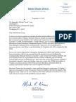 FEMA Letter on Florence