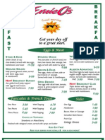 2010 Breakfast Menu