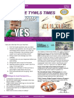 The TYWLS Times - May 2018 Edition