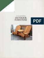 Art of outdoor furniture
