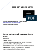 Paso a Paso Con Google Earth