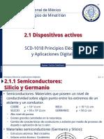 PEAD 2.1.1, 2.1.2 Dispositivos Activos - Semiconductores, Diodos - 2017EJ