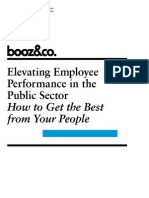 Booz&Co - Elevating Employee Performance