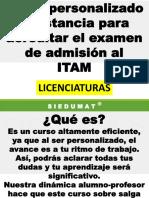 Curso examen de admisión al ITAM