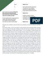 Letra de Coras