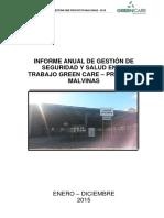 Informe ANual HSE