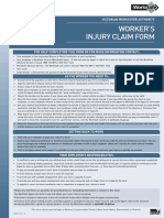 FOR502 PDF of Workers Injury Claim Form Nov 2013 Website