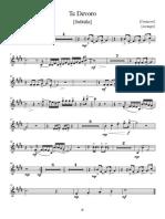 Te Devoro - Trumpet in Bb