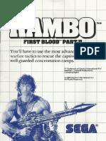 Rambo- First Blood Part 2 - 1986 - Sega
