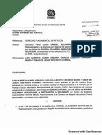 Denuncia penal contra Samuel Hoyos
