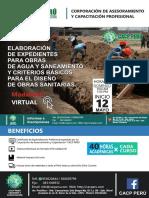 Elaboración de Expedientes Para Obras de Agua y Saneamiento - Brochure Eg75zai