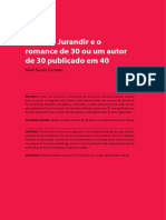 Dalcídio Jurandir e o Romance de 30