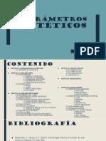 Parámetros Estéticos 123
