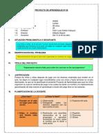 Proyecto de Organizar Sectores