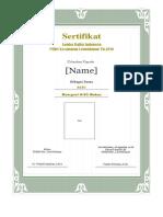 sertifikat lomba