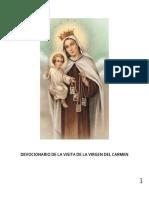 Devocionario a La Virgen Del Carmen