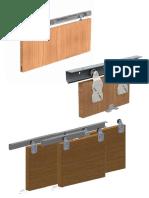 Hung Top Door