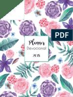Planner Devocional Floral