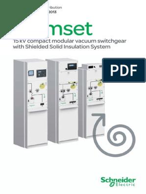 Premset Maintenance Guide - NRJED313586EN | Relay | Switch