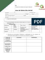 Detección inicial E035