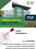 PPT Kebijakan Pelatihan utk Jabfung.ppt