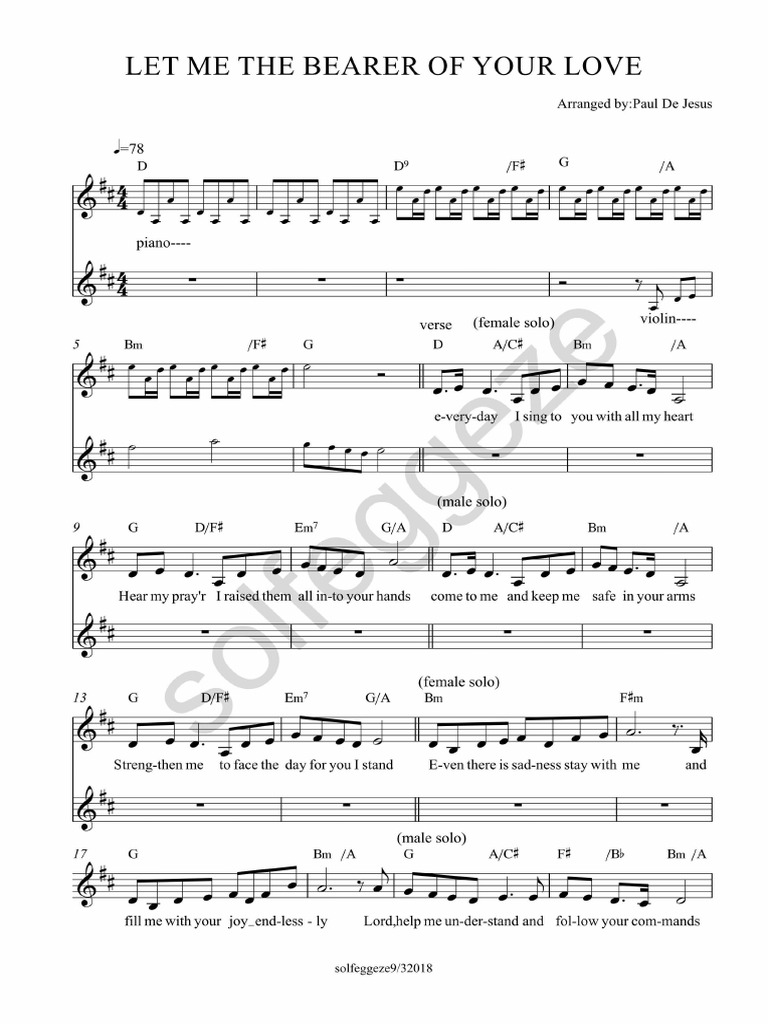 Let Me Be the Bearer Choir Final | Entertainment (General
