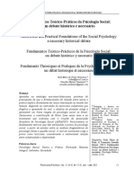 Fundamentos Teórico-Práticos da Psicologia Social