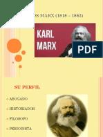 CARLOS MARX (1818 _ 1883)