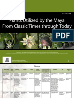 Plants Utilized by the Maya